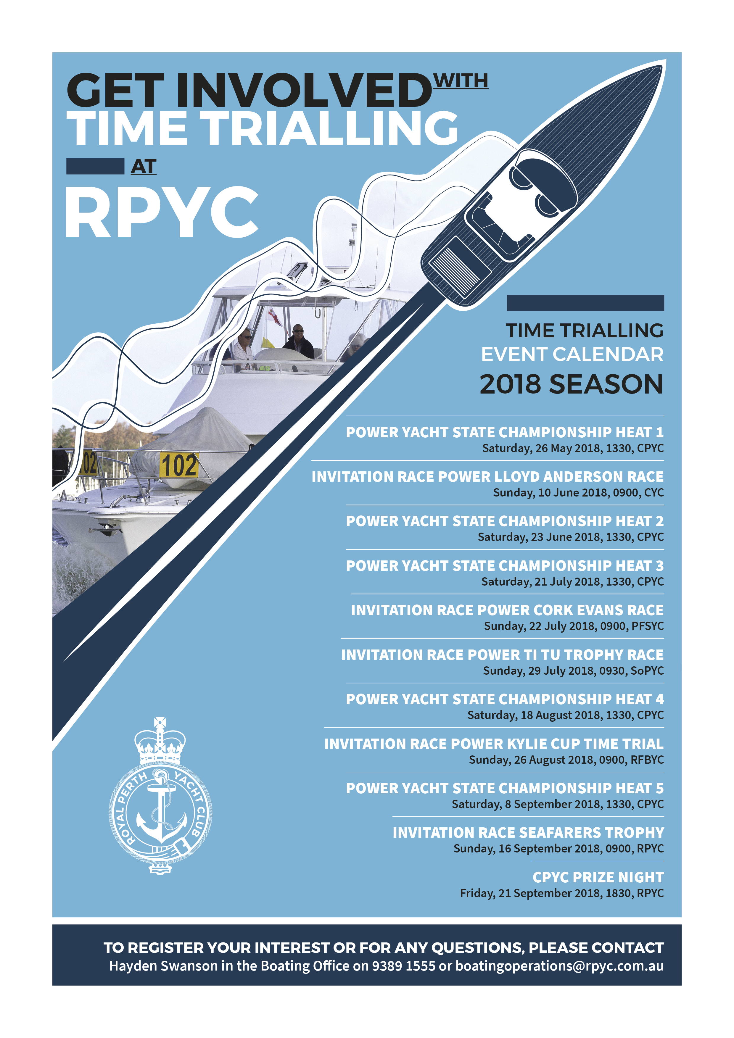 RPYC Time Trialling A4 Poster 2018