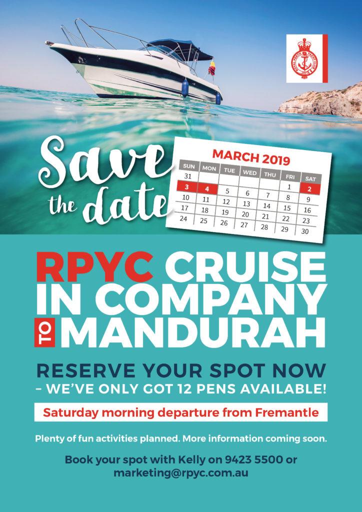 RPYC Cruise in Company Mandurah A4 2018