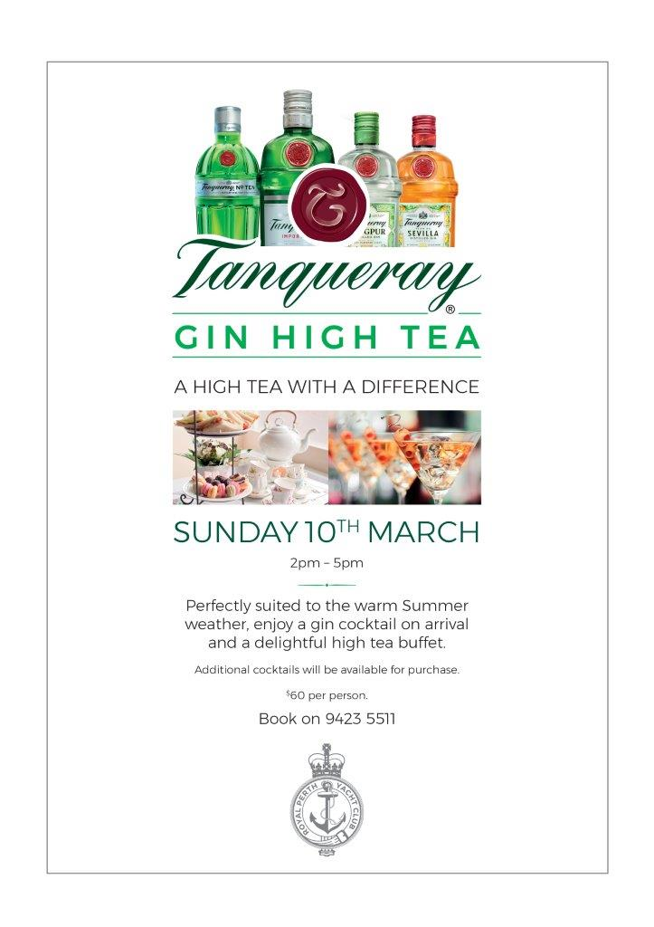 Gin high tea