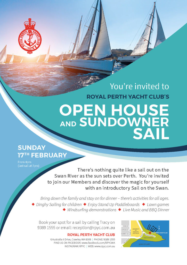 RPYC Sundowner Sail Open House 2019