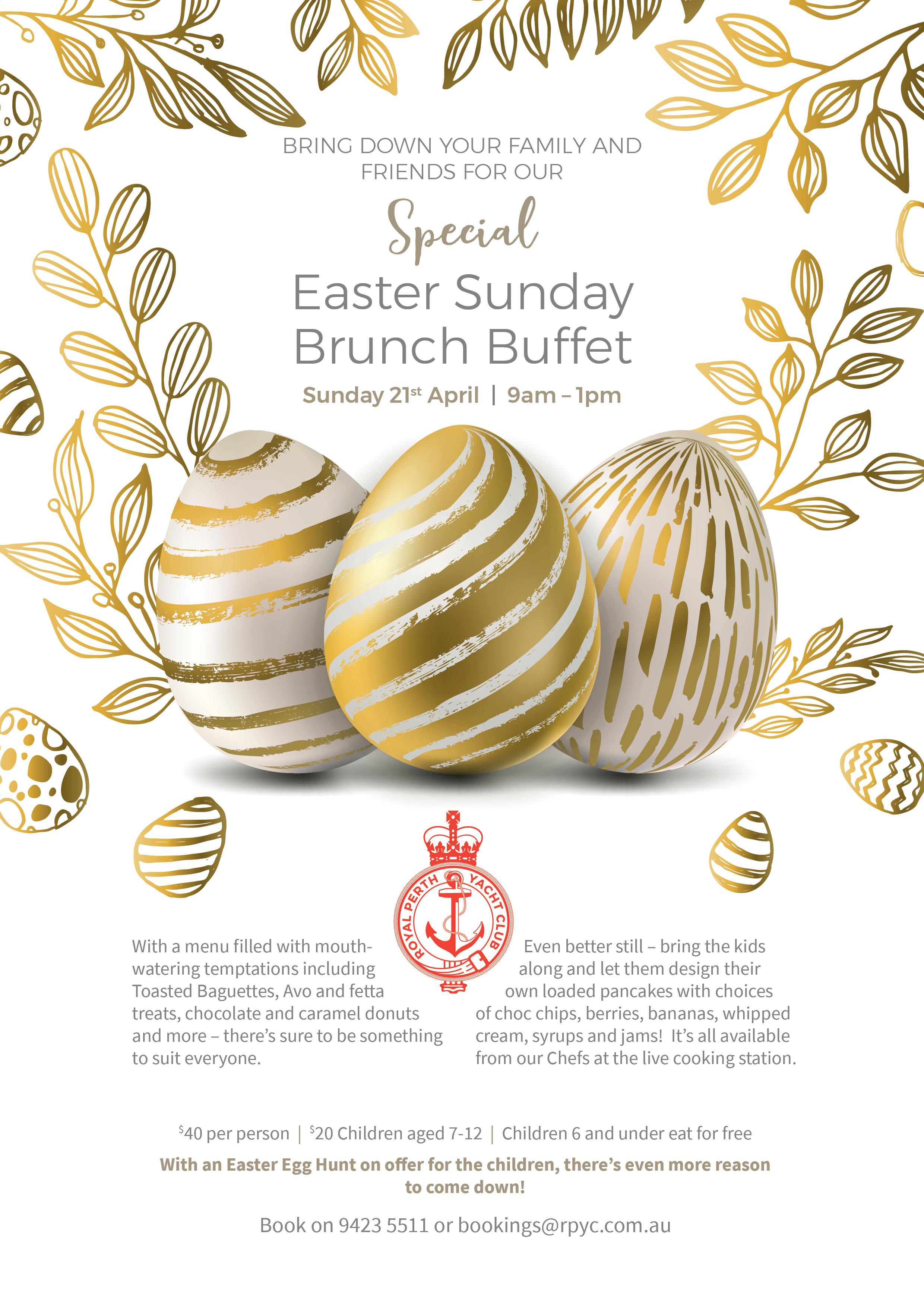 ITW April 2019 Easter brunch