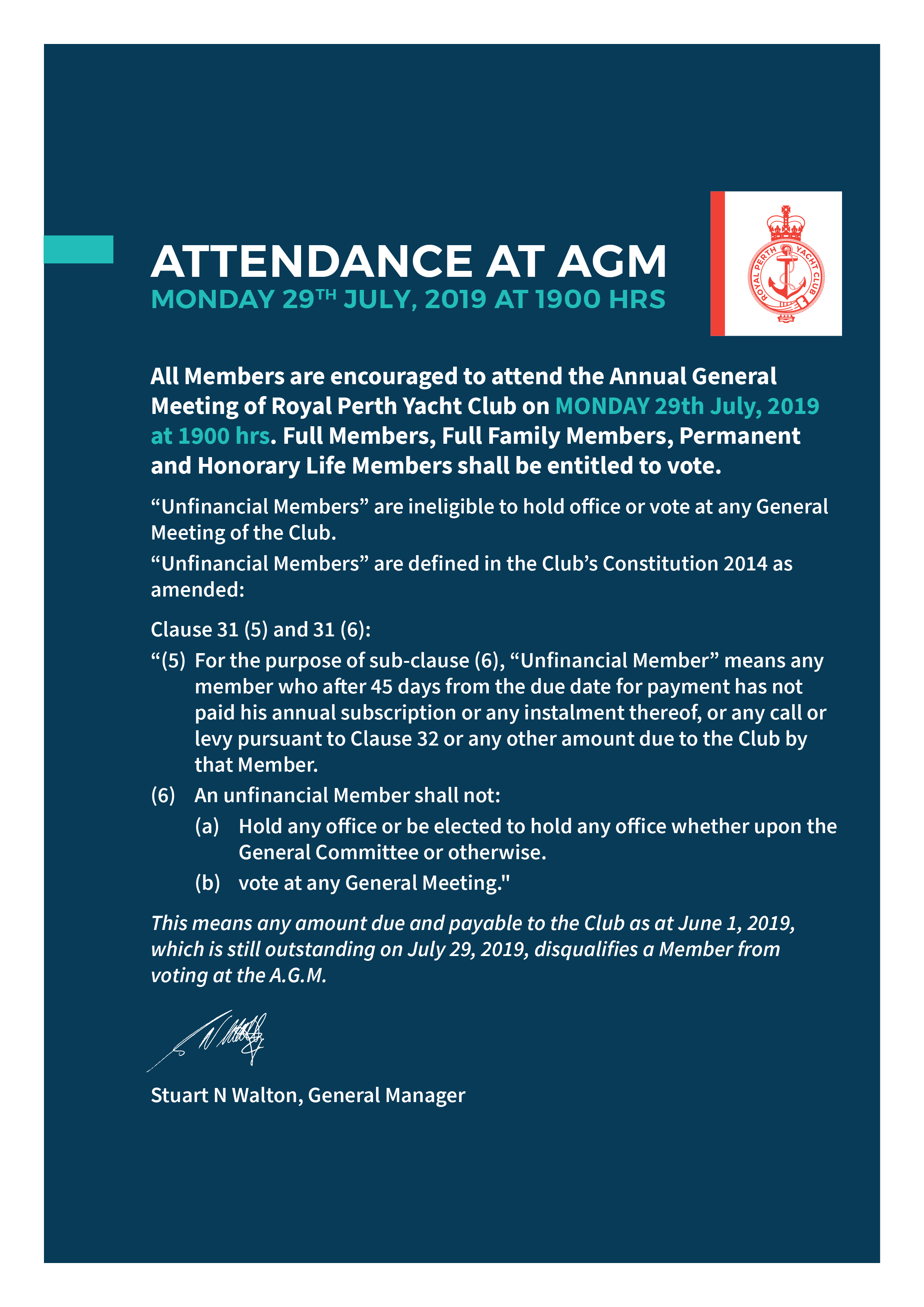 AGM July 2019