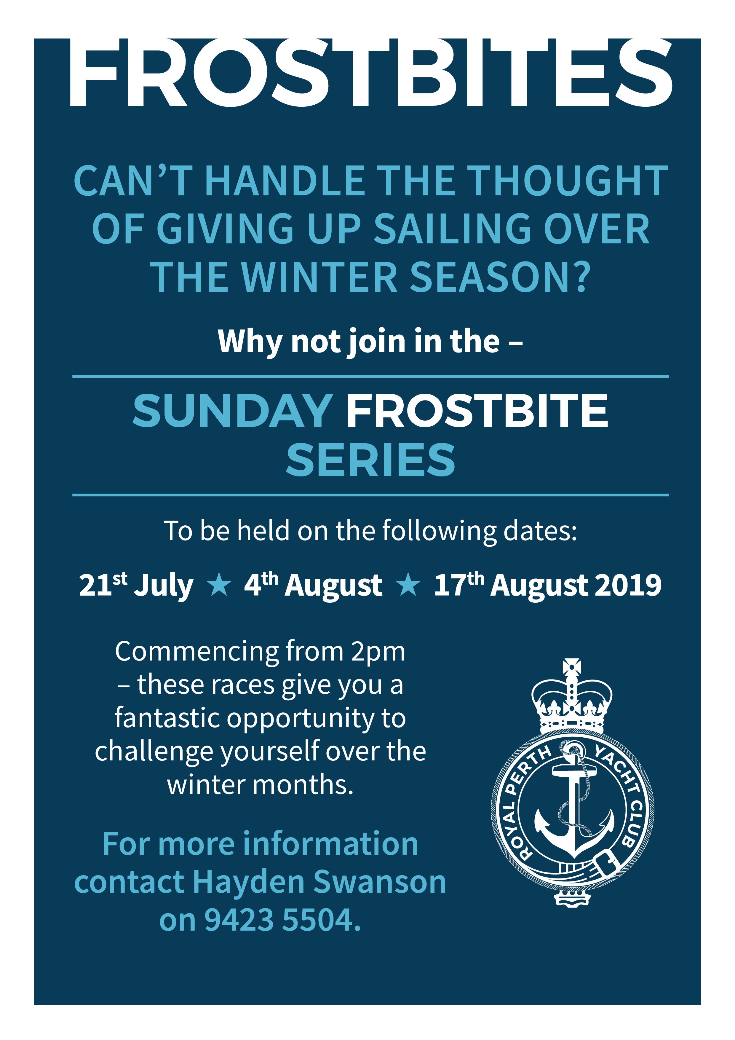 Frostbites July 2019