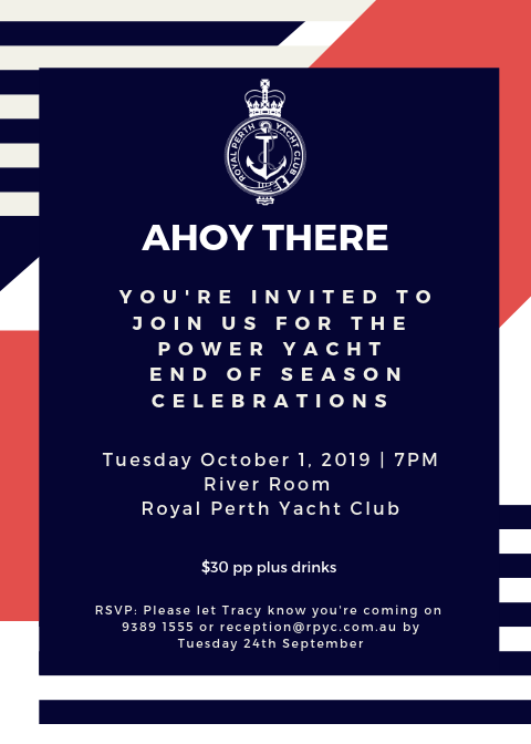 Ahoy There Join us for the Power End of Season Celebrations (3)