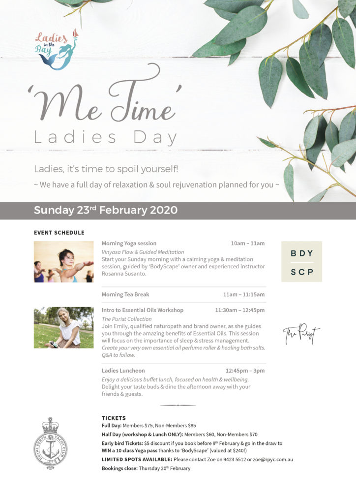 RPYC Ladies Day Me Time A4 2020