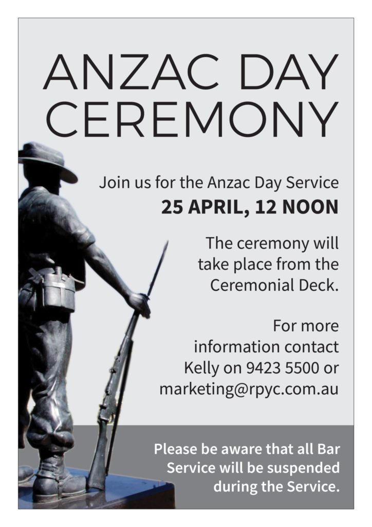 ITW April 2021 ANZAC Ceremony