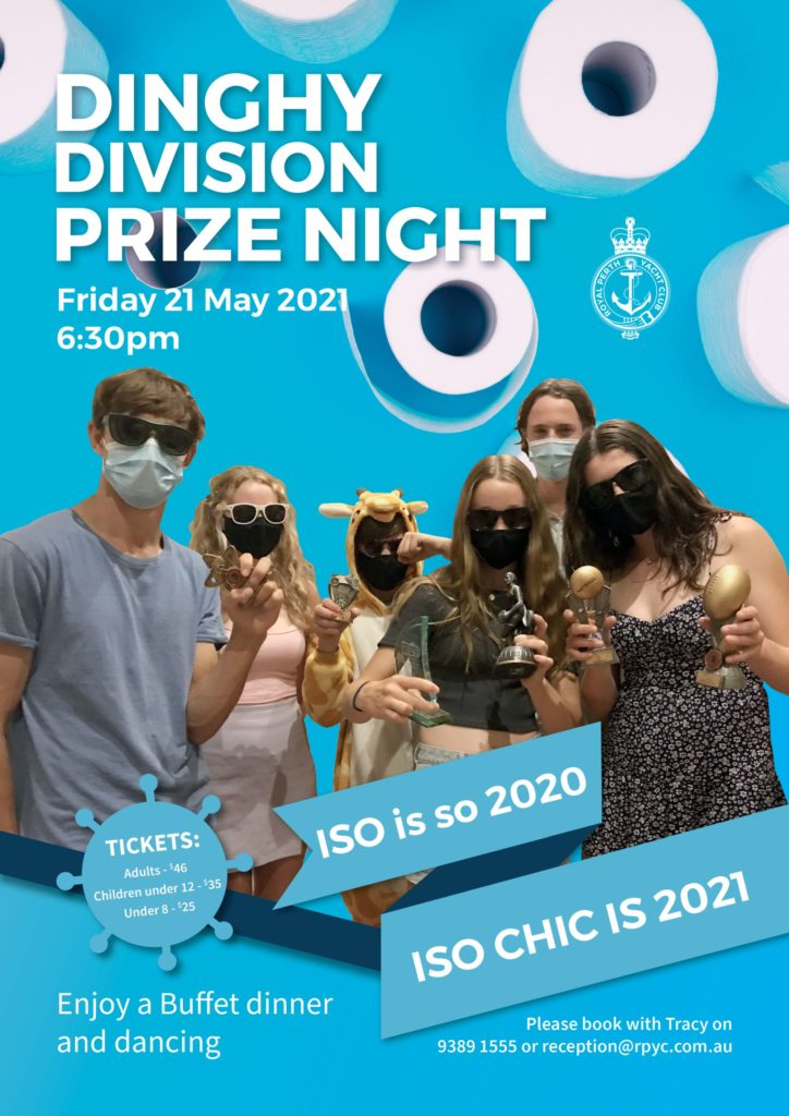 ITW April 2021 Dinghy prize night