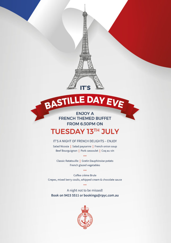 ITW July 2021 Bastille Day Eve
