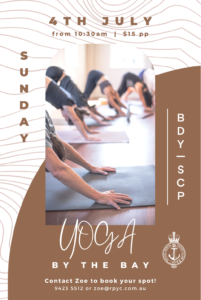 YOGA BY THE BAY JULY 4